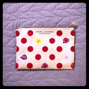 MARC JACOBS clutch pouch cosmetic makeup bag